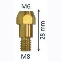 Вставка под наконечник к горелкам M36 (M6х28)